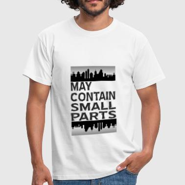 May contain small parts - Männer T-Shirt