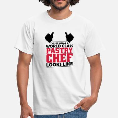 Pastry-chef world class pastry chef - Men's T-Shirt