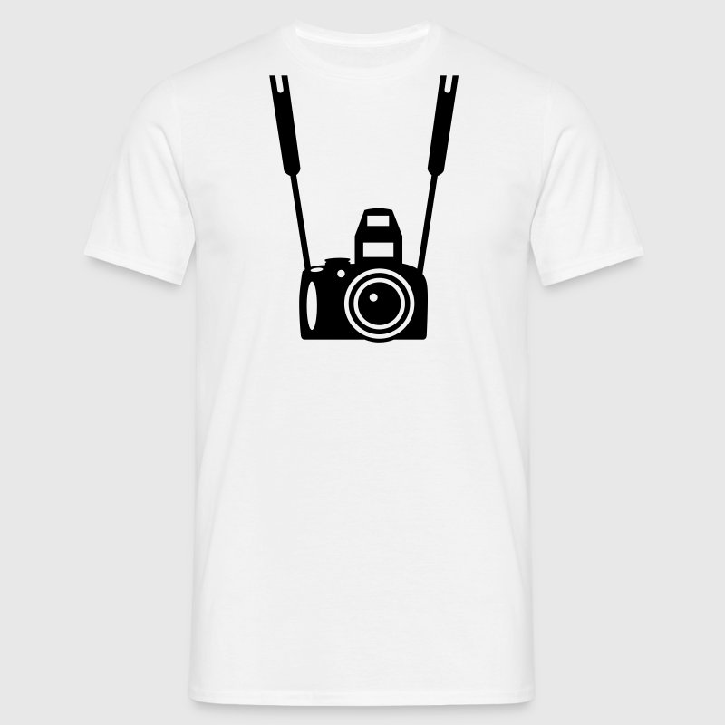 Foto Camera - Mannen T-shirt