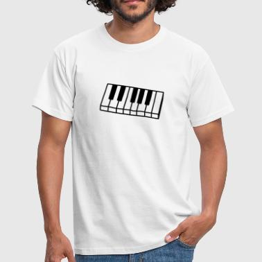 Piano - Clavier - Keyboard - T-shirt Homme