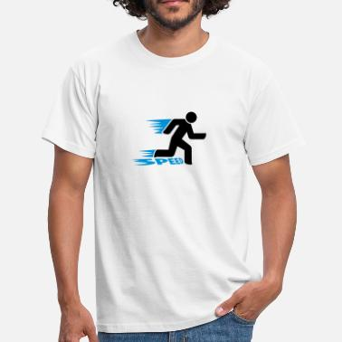Speed speed - Männer T-Shirt