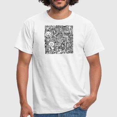 Doodles - Men's T-Shirt