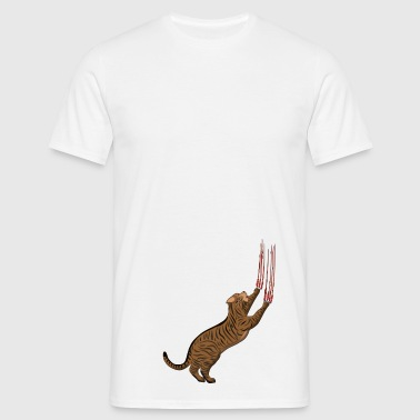 Chat gratter - T-shirt Homme