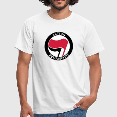 Action Antifasciste - Männer T-Shirt