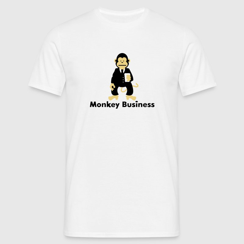 Monkey Business Delantales - Camiseta hombre