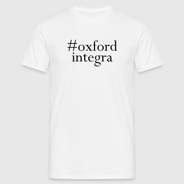 #oxfordintega centred - Men's T-Shirt
