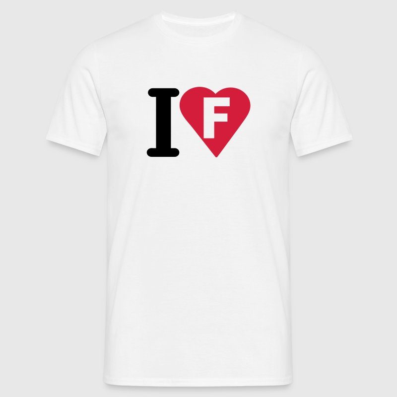 i_love_f_lettre - T-shirt Homme