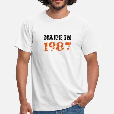 Made In 1987 Made in 1987 - Männer T-Shirt