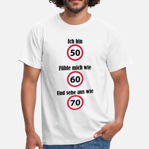 Geburtstag 50 60 70 Witzig Lustig Bose Gemein Manner T Shirt