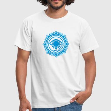 Illuminati Symbol Amulet Eye of Providence - Eye of Horus - Eye of God  - Men's T-Shirt