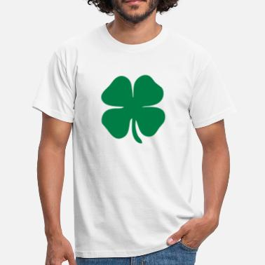 Clover 4 leaf clover - Men's T-Shirt