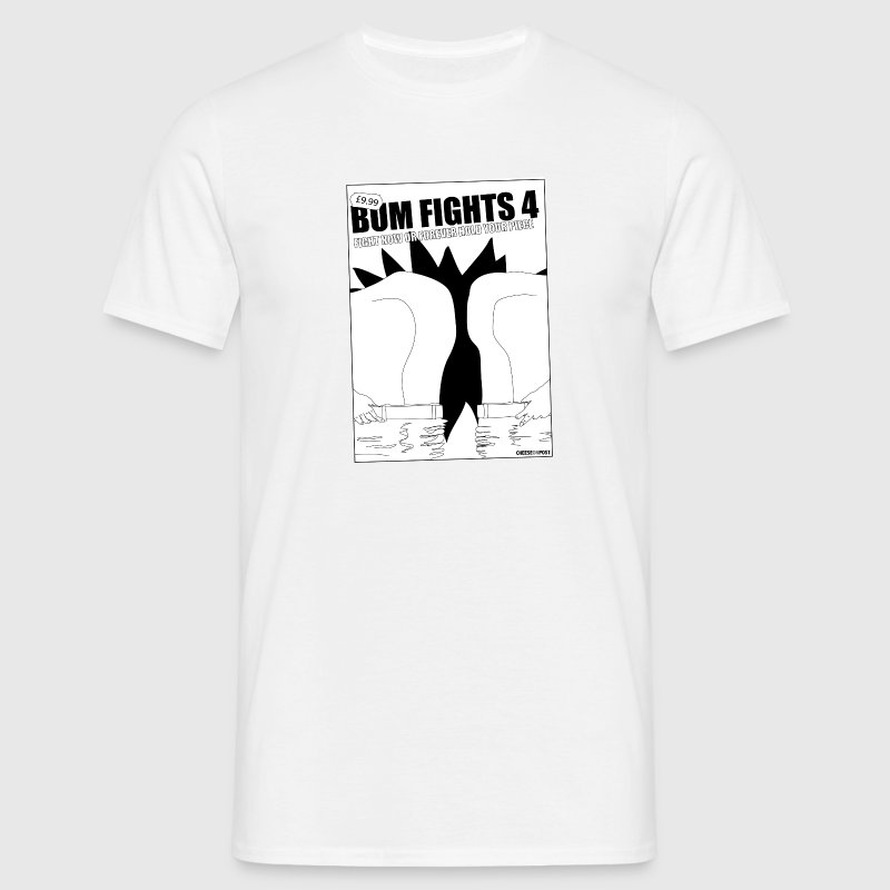 bum fights - Men's T-Shirt