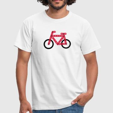 bicycle model - Men's T-Shirt