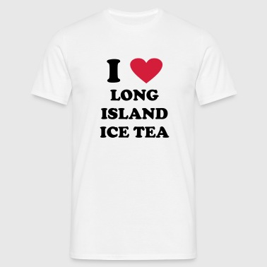i love long island ice tea - Men's T-Shirt