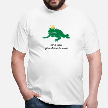 Parodie grumpy frog prince - waiting - T-shirt Homme