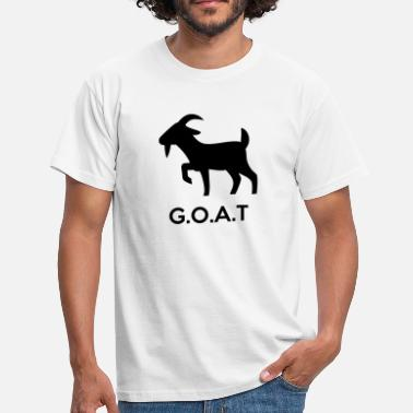 Greatest Of All Time The G.O.A.T (Greatest Of All Time) - Men's T-Shirt