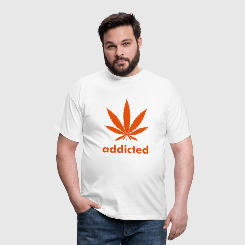 Addicted Weed - T-shirt Homme