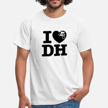 Dhs I Love DH - Men's T-Shirt