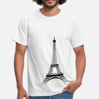 Tour Tour Eiffel PARIS (black-transparence) - T-shirt Homme