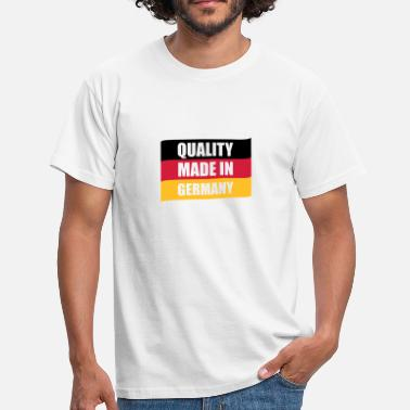 Deutsche Flagge Quality made in Germany | Deutschland | Fahne | Flagge - Men's T-Shirt