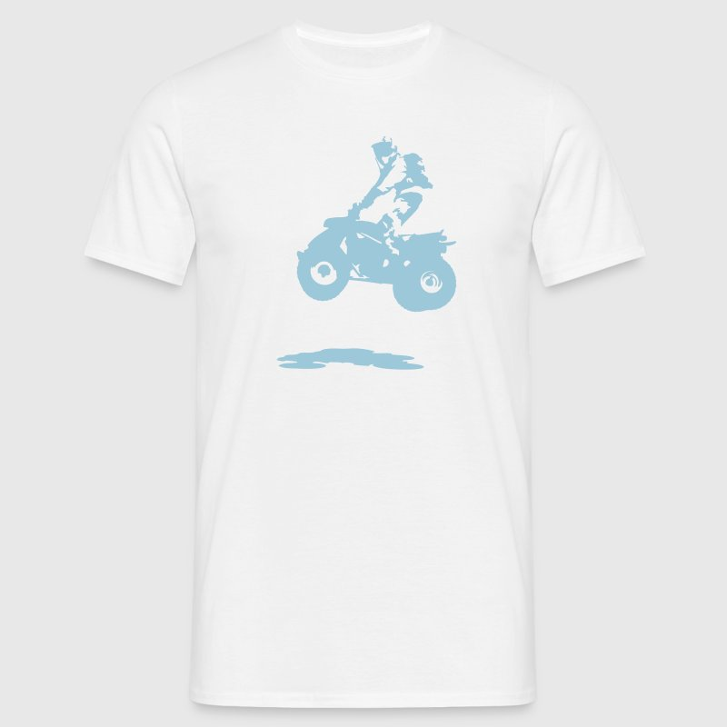 quad bike - Men's T-Shirt