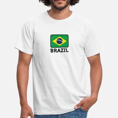 6d92cf4282 Portugués Países Bandera nacional de Brasil - Camiseta hombre
