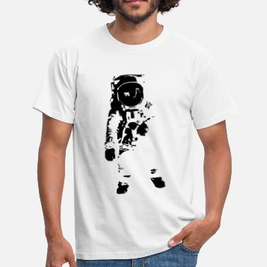 Hipster Astronaut - Space - T-skjorte for menn