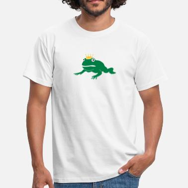 Crapaud grumpy frog prince - T-shirt Homme