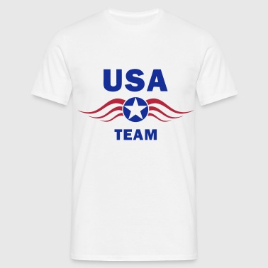 usa fly team - T-shirt Homme