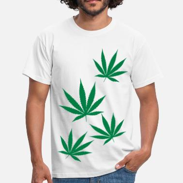 Weed Leaf weed leaf - Men's T-Shirt