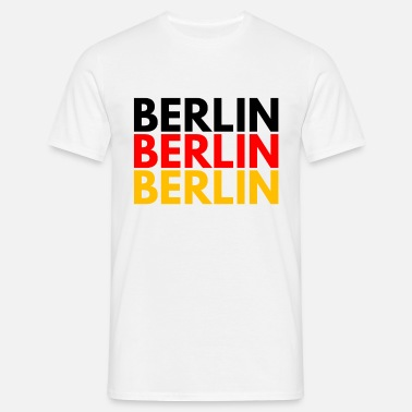 Germany Berlin BERLIN BERLIN BERLIN CAPITAL OF GERMANY - Men's T-Shirt