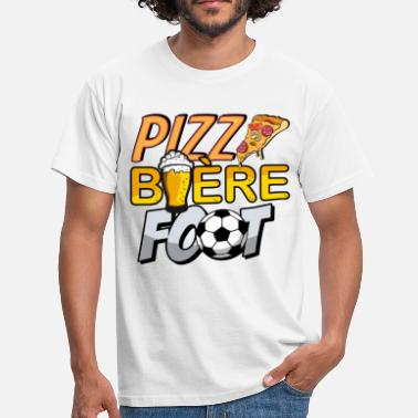 Pizza biere foot - T-shirt Homme