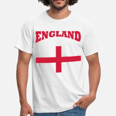 England England + cross - Men's T-Shirt