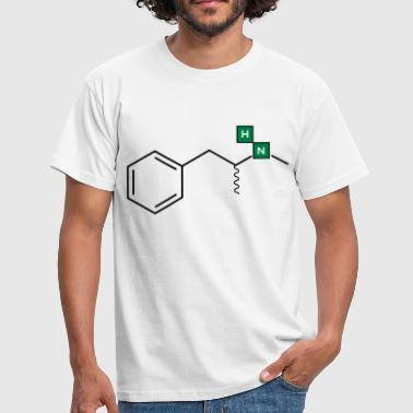 Chemical Structure Meth Structure - Men's T-Shirt