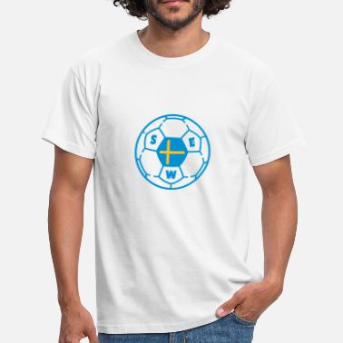 Ballon foot SWEDEN v2 - T-shirt Homme