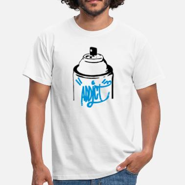 Graffiti Bottle Spray Graffiti - Men's T-Shirt