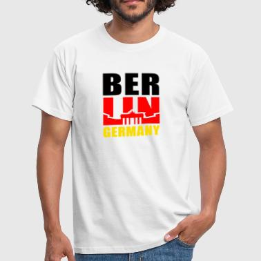 BERLIN GERMANY Brandenburger Tor - Men's T-Shirt