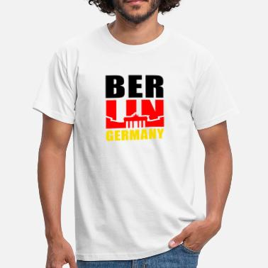 Berlin Germany Brandenburger Tor BERLIN GERMANY Brandenburger Tor - Männer T-Shirt