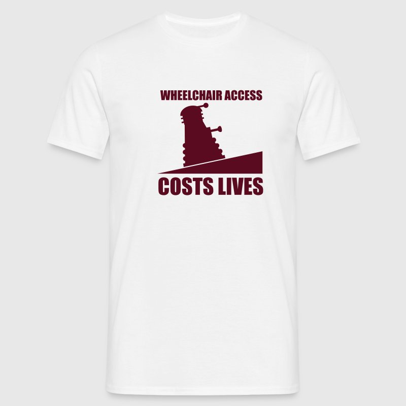Wheelchair Access - Men's T-Shirt