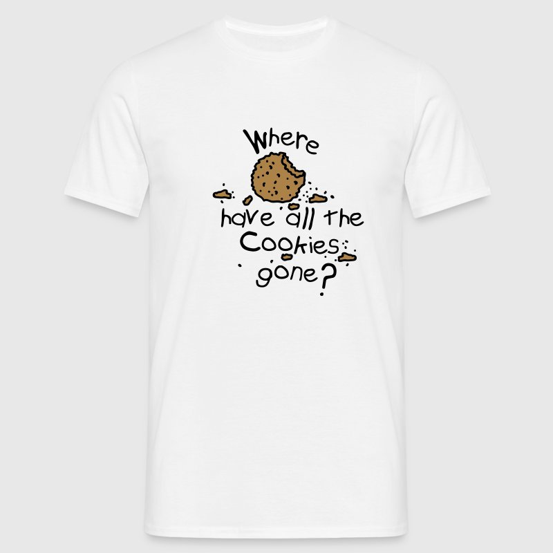 Where have all the cookies gone? - Men's T-Shirt