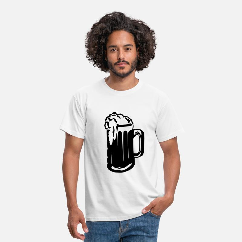 Alcohol T-Shirts - Beer - Alcohol - Men's T-Shirt white