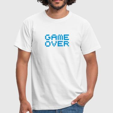 Game over / game over pixels - T-shirt herr
