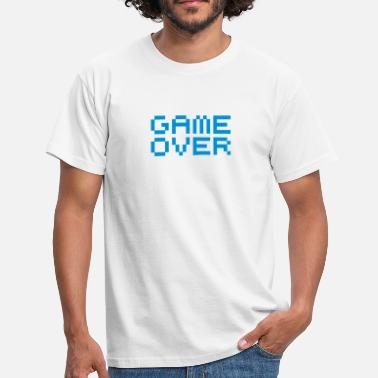 Game Over Game over / game over pixels - T-shirt herr