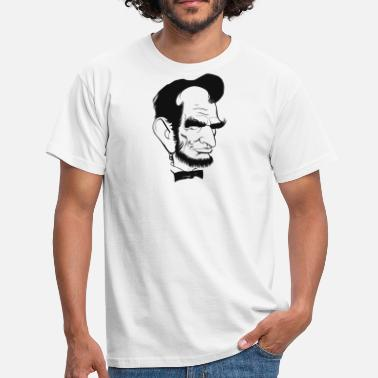 Lincolnshire Abraham Lincoln US President Abe Lincoln - T-shirt herr