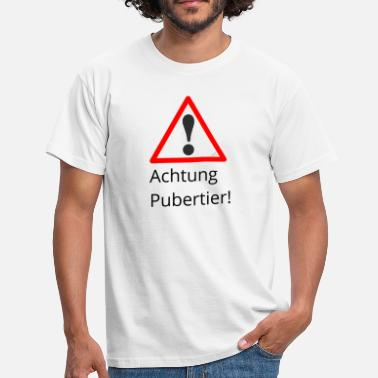 Puberté Attention puberté - T-shirt Homme
