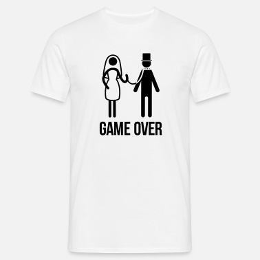 Game Over enterrement de vie de garçon - T-shirt Homme