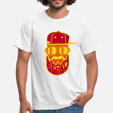 Hiphop logo beard hiphop - T-shirt Homme