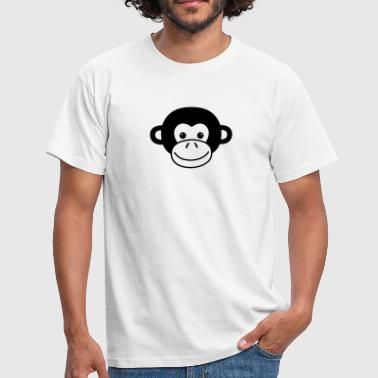 Monkey Face - T-skjorte for menn