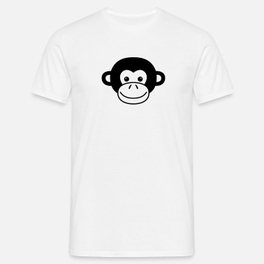 Monkey Face - Mannen T-shirt