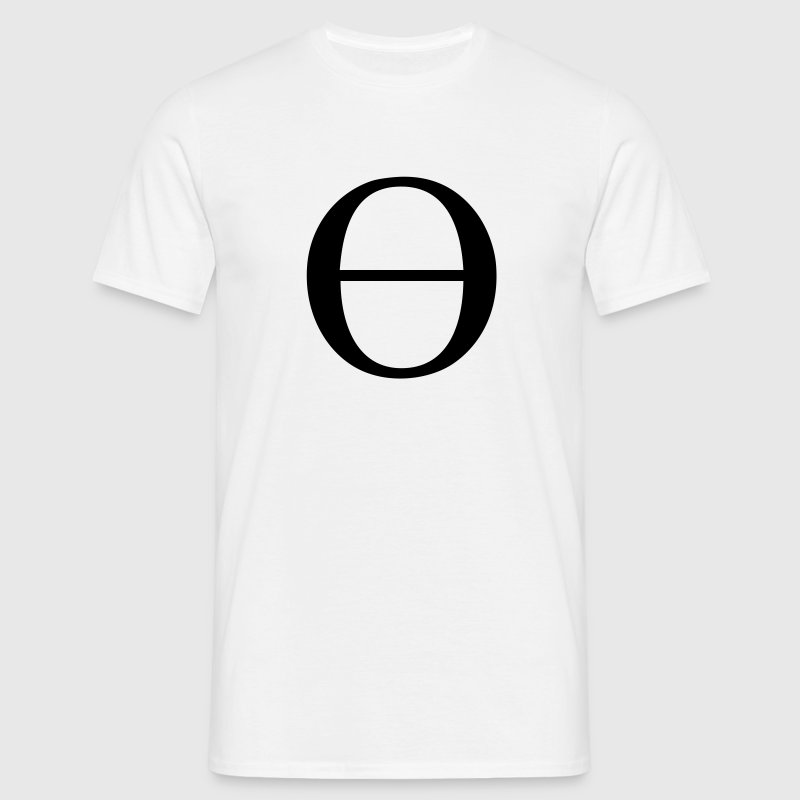 Greek Symbol Lowercase Theta By Tshirtdesigns Spreadshirt